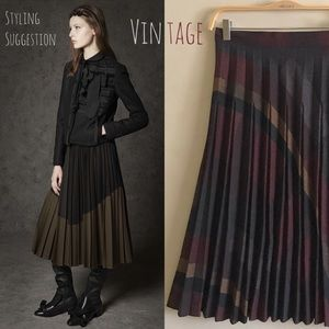 Beautiful Vintage Plaid Skirt